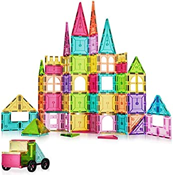 100-Piece Anksono Magnet Building Tiles Set