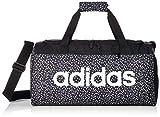 adidas Linear Duffel Graphic S, Taschen für Herren, Schwarz/Weiß/Weiß, Einheitsgröße