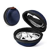 2 Packs Hard Earphone Case Headphone Organizer - Shockproof Mini Earbud Carrying...