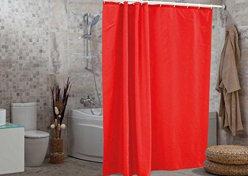 wohnideenshop Duschvorhang, Rot