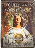 HEZHANG 月の女王oraclee Cardフルイングリッシュパーティーボードゲーム44カードデッキタロット占星術区切りの運命のカード