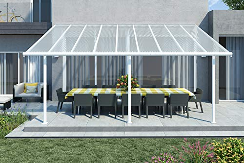 Palram Sierra Patio Cover (3X5.46, White)