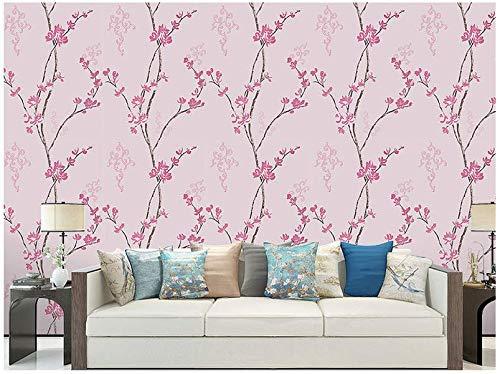 Pvc Impermeable Auto-stick Fondo Fondo Europeo Muebles De Pared De Fondo Dormitorio Caliente Pasta Romántica Pared 0.45×10m M