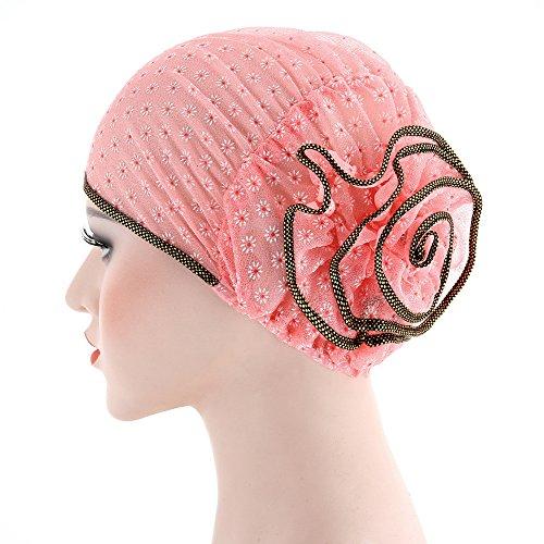 Printasaurus Women Muslim Stretch Turban Hat Chemo Cap Hair Loss Head Scarf Wrap Cap Clothing Shoes & Accessories Hat