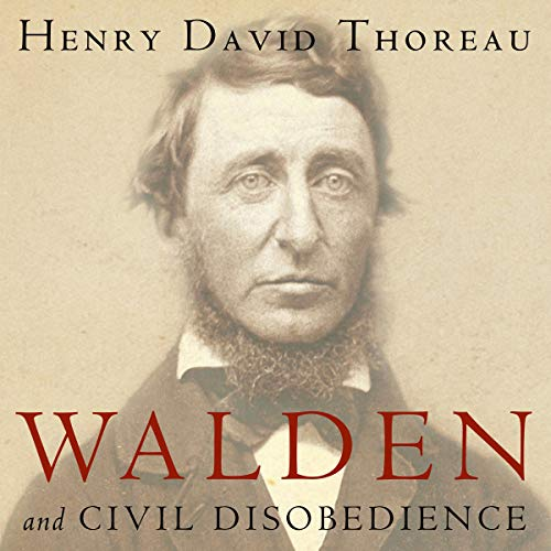 Walden and Civil Disobedience audiobook cover art