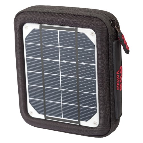 Voltaic Amp Solar Charger - Orange