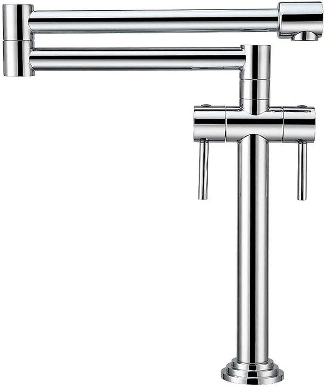 Küchenarmatur Wasserhahn- Küchen Wasserhahn     360° Schwenkbare Küchenarmatur Mit Temperaturanzeige     Armatur Küchenspüle Hochdruck Edelstahl Spülbecken Mischbatterie (Farbe   Chrome)