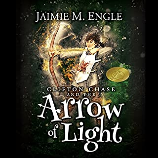 Clifton Chase and the Arrow of Light audiobook cover art