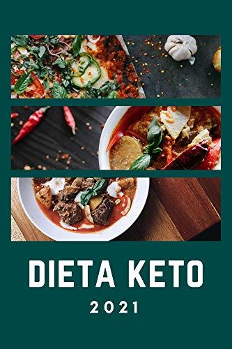 Book's Cover of Dieta Keto 2021: Su plan de 30 días para perder peso, equilibrar las hormonas, mejorar la salud del cerebro y revertir las enfermedades (Spanish edition) [Print Replica] Versión Kindle