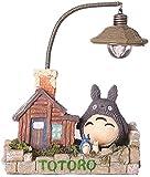 ZSNB Lámpara de luz de la Noche de Totoro Ghibli turística Mi Vecino Totoro Figura Noche Estatua Modelos muñecas for jardín Decoración Niños