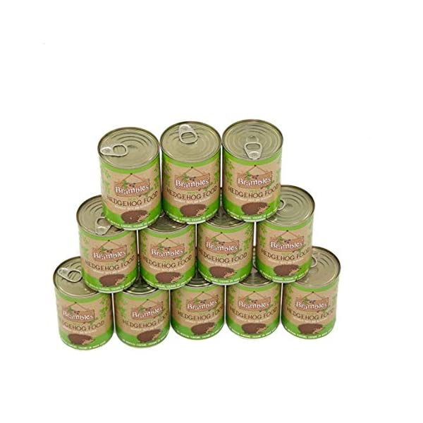 Brambles Meaty Hedgehog Food 400g x12