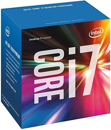 Intel Core i7-6700K 4.00GHZ+ Socket LGA1151 6MB Cache 6e generatie Skylake Desktop Processor