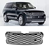 MotorFansClub Front Bumper Grille Facelift Grill Fit For Compatible With Land Rover Range Rover Vogue L405...