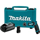 Makita 7.2V Lithium-Ion Cordless 1/4 Hex Driver-Drill Kit with Auto-Stop Clutch battery drills May, 2021