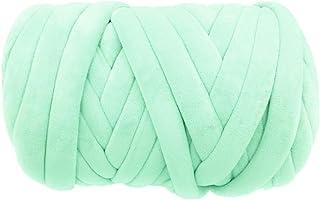 Super Vegan Velvet Chunky Yarn, Acrylic Bulky Thick Roving Washable Softee Jumbo Tubular..