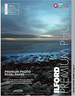 Ilford Premium Pearl 8 1/2 x 11 Inch Photo Paper 20 Sheets