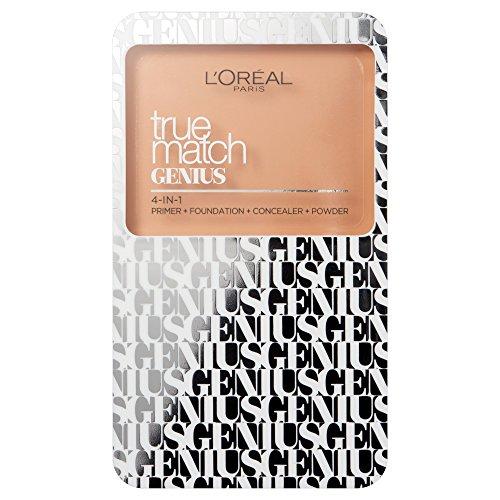 L'Oréal Paris True Match Genius Compact Foundation 4 In 1 Color 5.N Sand 0.24 oz