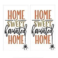 ハロウィンテーマゲストタオル ビュッフェペーパーナプキン 「Home Sweet Haunted Home」 (2枚パック) 各16枚