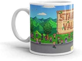 Stardew Valley Bus Mug 11 Oz White Ceramic
