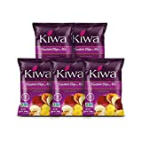 Kiwa Veggie Chips – Vegetable Chip Mix of Cassava, Plantain, Beet, Sweet Potato, Parsnip (5 Pack of 5.25oz Individual Bags) Gluten Free, Non-GMO, Kosher, Vegan Snack