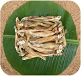 LEMURIAN FOODS Rameswaram Special Sun Dried Premium Crispier Anchovy/Nethili-Big-With Salt-250g *** Before Purchasing, Please double check whether it is sold by
