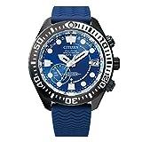 [シチズン] 腕時計 プロマスター エコ・ドライブGPS衛星電波時計 MARINEシリーズ ダイバー200M トリップアドバイザーコラボモデル CC5006-06L メンズ ブルー