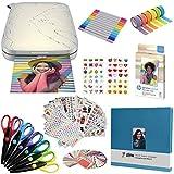 HP Sprocket Select Impresora fotográfica instantánea portátil de 2,3 x 3,4 Pulgadas (Blanco) Paquete de álbum de Recortes