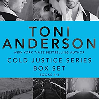 Cold Justice Series Box Set: Volume 2: Books 4-6                   Written by:                                                                                                                                 Toni Anderson                               Narrated by:                                                                                                                                 Eric G. Dove                      Length: 30 hrs and 46 mins     Not rated yet     Overall 0.0