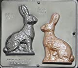 """6"""" Bunny Chocolate Candy Mold Easter 801"""