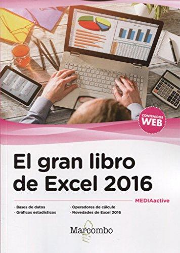 El gran libro de Excel 2016