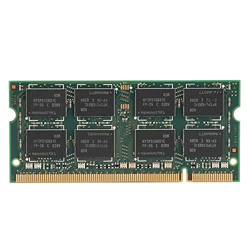 fasient DDR2-Speicher,533 MHz 2GB DDR2-RAM PC2-4200 200-PIN Laptop-Speicher Hohe Speichergeschwindigkeit Desktop-Speicher kompatibel für Intel/AMD