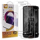 Guran 4 Paquete Cristal Templado Protector de Pantalla para Doogee S55 / S55 Lite Smartphone 9H Dureza Anti-Ara?azos Alta Definicion Transparente Película