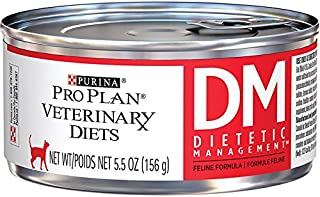 Purina Pro Plan Veterinary Diets DM Dietetic Management Formula Canned Cat Food 24/5.5 oz