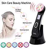 Facial Lifting Machine,LED Light Wrinkle Remover Skin Tightening Anti Aging Skin Rejuvenation Massager