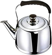 Czajnik do herbaty do kuchenki na górze ze stali nierdzewnej, ergonomiczny czajniczek z gwizdkiem, odpowiedni do herbaty i...