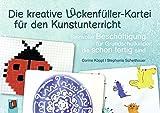 Die kreative Lückenfüller-Kartei für den Kunstunterricht: Sinnvolle Beschäftigung für Grundschulkinder, die schon fertig sind