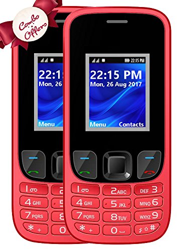 IKALL K29 Dual SIM Mobile Combo of 2 Basic Feature Phones w
