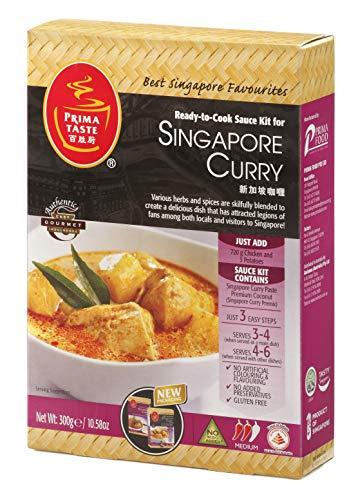 Prima Taste Singapore Curry, Ready-to-Cook Saucen-Kit für Currys, 300 g