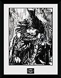 GB eye Ltd Foto Batman Comic Rain, gerahmt, 1-teilig, ca.