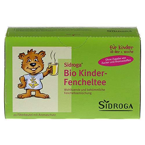 Sidroga Bio Kinder Fencheltee, 20 St