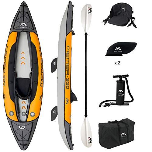Aquamarina MEMBA 330, Kayak Unisex Adulto, Multicolore, Unica