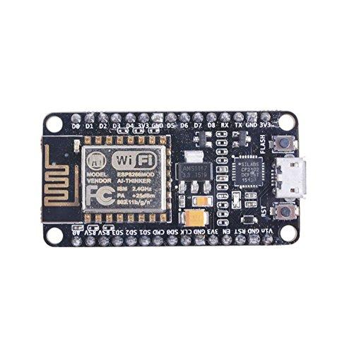DollaTek NodeMCU LUA WiFi Development Board Internet Basé sur ESP8266 CP2102