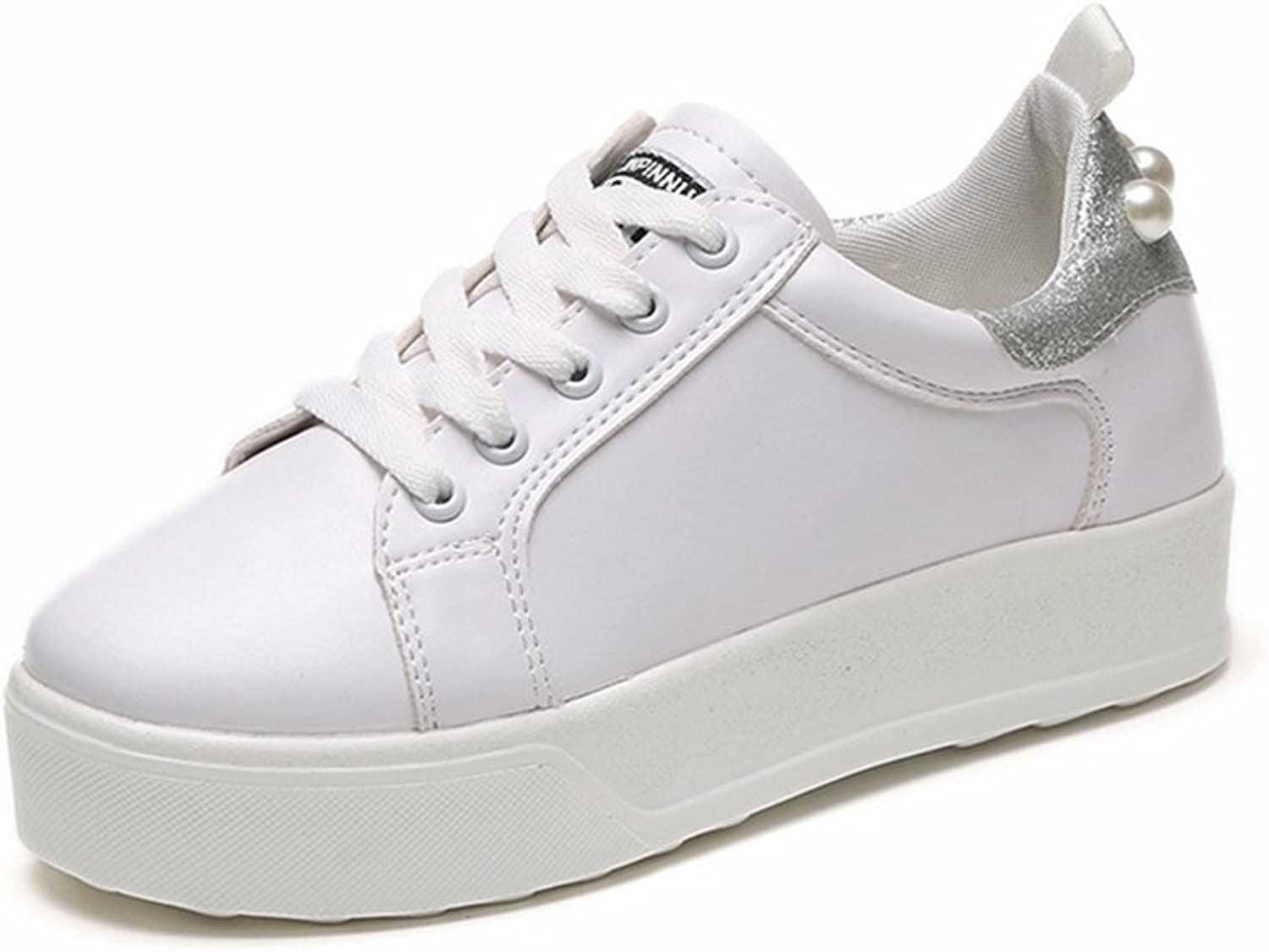 CYBLING Women's Thick Soles shoes Height Increasing shoes Casual Fashion Sneakers