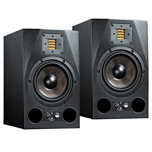 """Adam A7X coppia di monitor attivi da studio con woofer da 7"""" e potenza di 150 watt rms"""