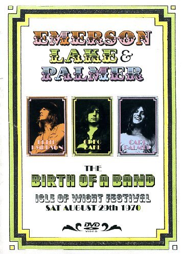 Emerson Lake & Palmer - The Birth Of A Band - Isle Of Wight Festival, Sat August 29th 1970