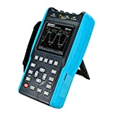 Osciloscopio de mano 2 en 1 2 canales con alcance de pantalla en color Multímetro digital DMM Meter 6000 cuentas EM1230