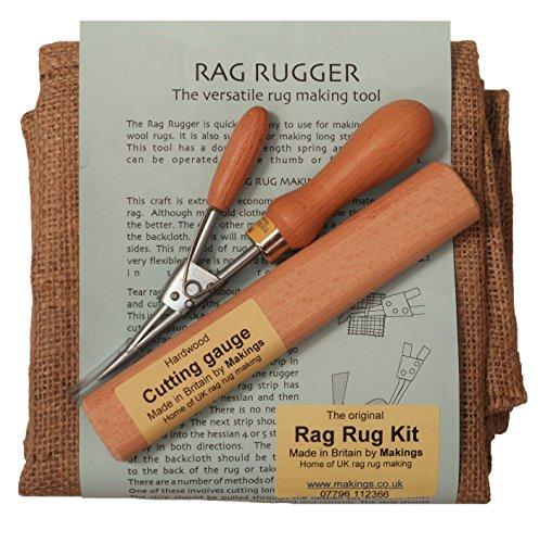 Makings Traditional UK Rag Rug Kit