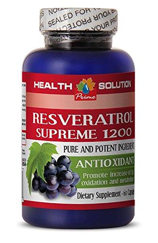 Resveratrol 2000 - RESVERATROL Supreme 1200MG - Prevent Muscle Fatigue (1 Bottle)