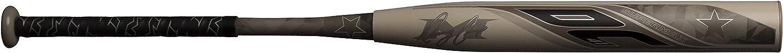 Miken UnisexAdult Slowpitch bat, Brown, 30oz