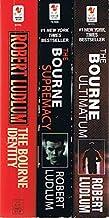 Robert Ludlum's Bourne Series: 5 Books: The Bourne Identity / The Bourne Supremacy / The Bourne Ultimatum / The Bourne San...